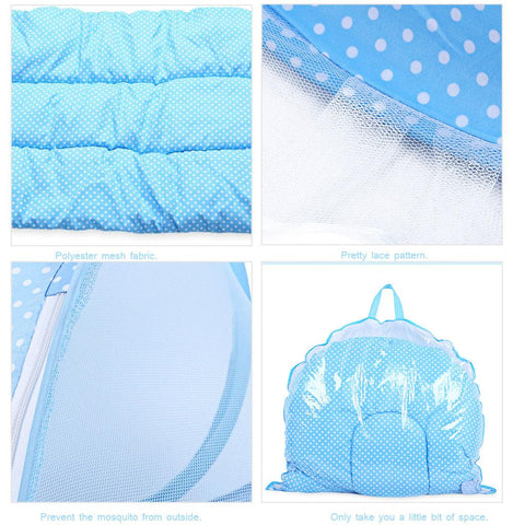 Family - Safe Baby Portable Foldable Crib