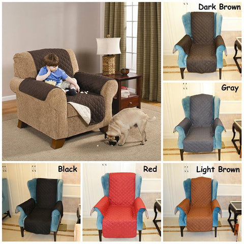 Pet - Sofa/Chair Reversible Slipcover Furniture Protector For Pets, Kids