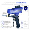 Image of Tools - Portable Gravity Feed Sandblasting Gun