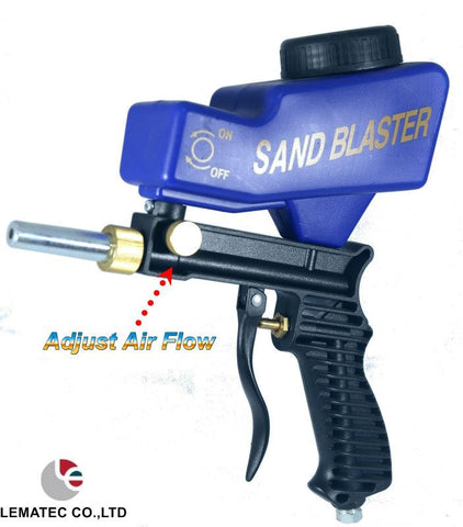 Tools - Portable Gravity Feed Sandblasting Gun