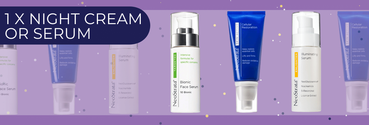 1 neostrata night cream or serum