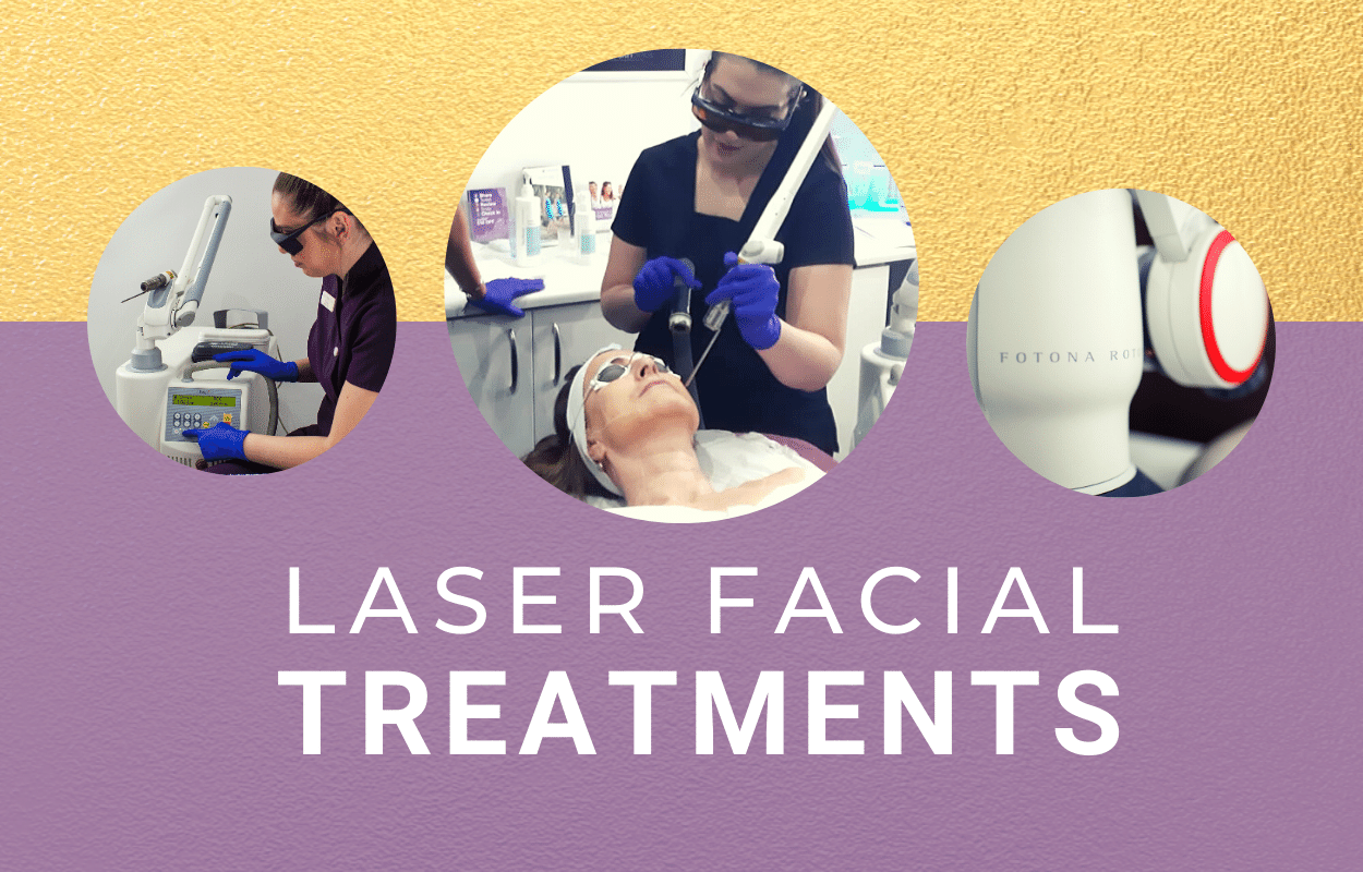 Laser facial treatments