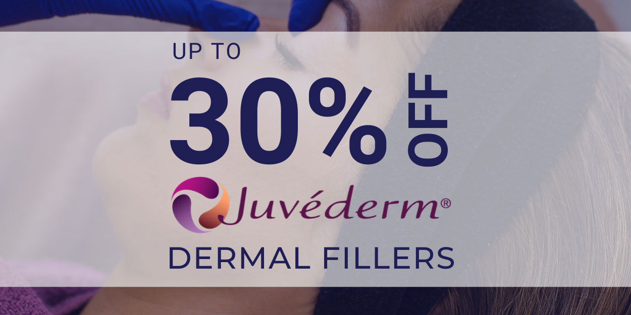save up to 30% off Dermal Filler Treatments