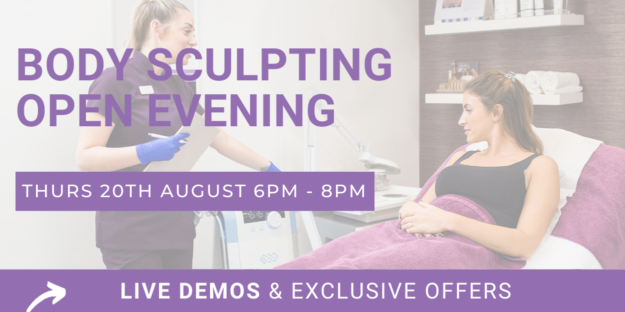 Body Sculpting open Evening Thursday 20th August 6-8pm