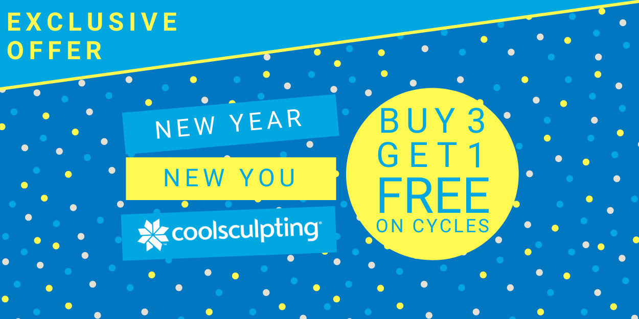 Buy 3 Get 1 Free on all coolsculpting cycles