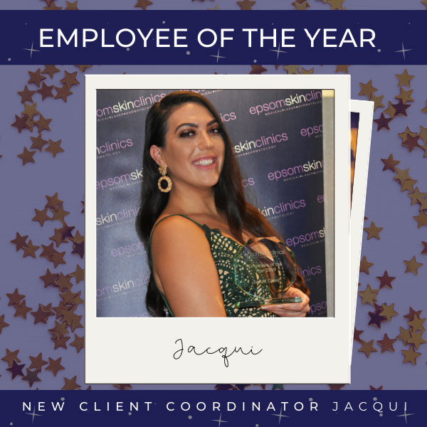 Employee of the year Jacqui