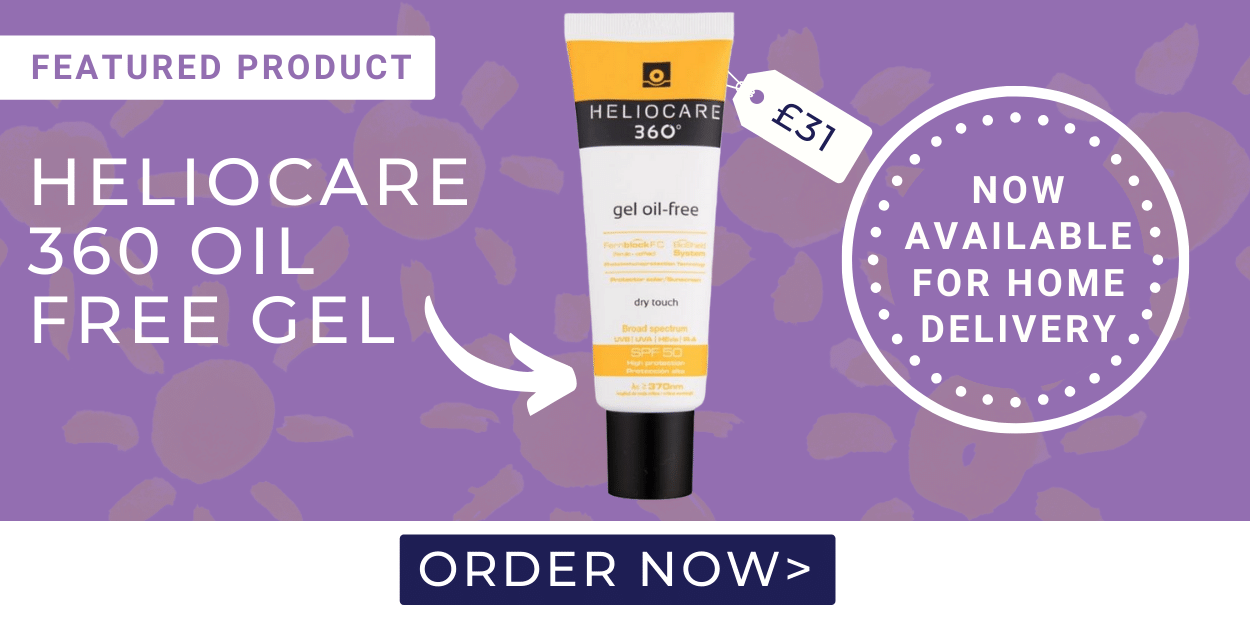 Heliocare 360 oil free gel £31 now available for home delivery