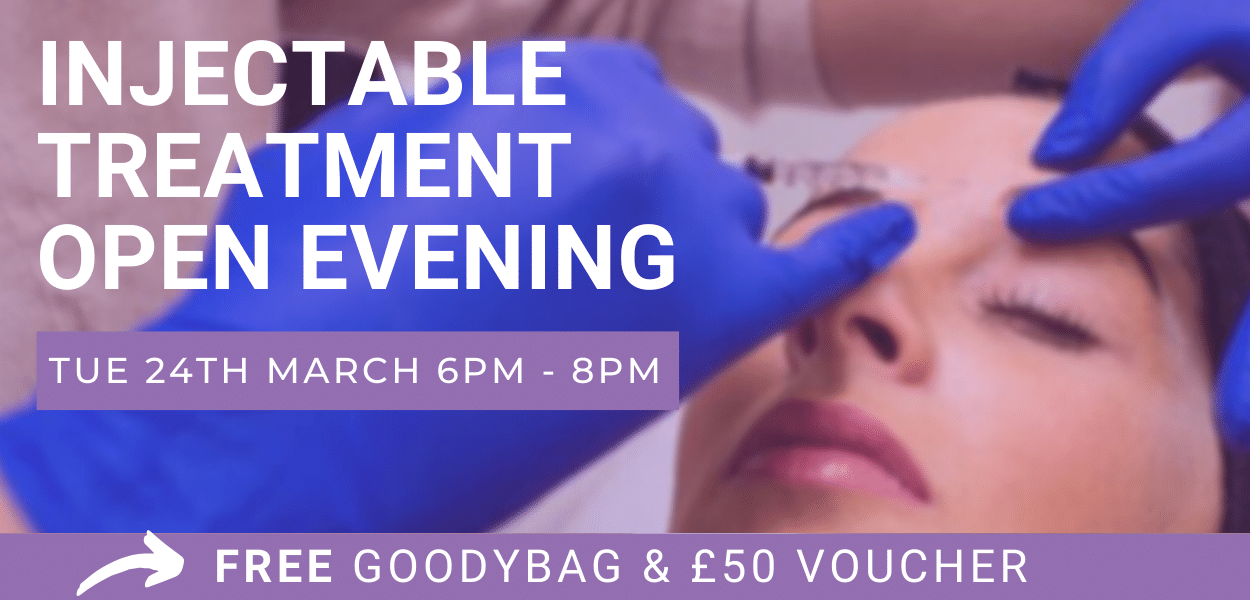 Find out more about our injectable event