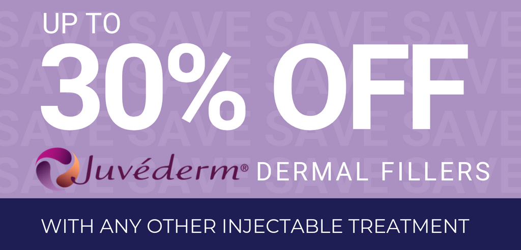 up to 30% odd dermal filler injections