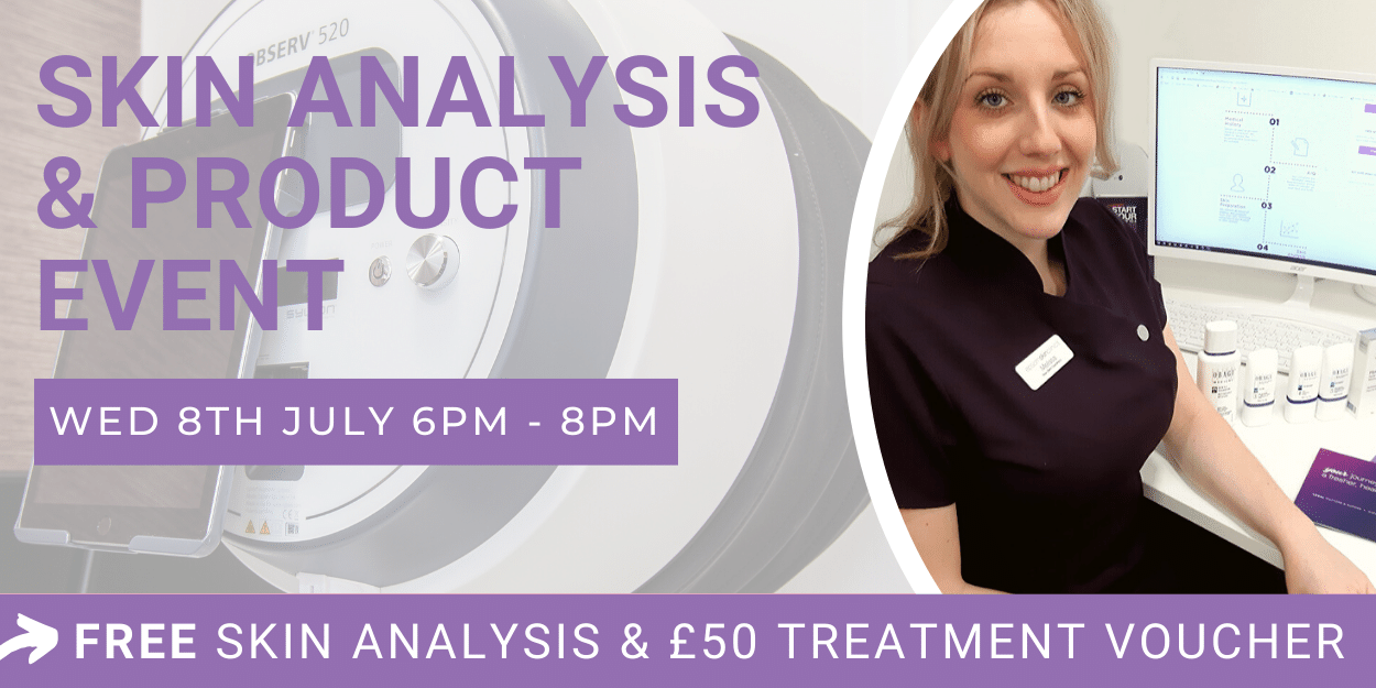 Observ skin analysis and product event 8th July