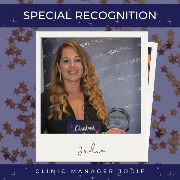 Special Recognition Jodie