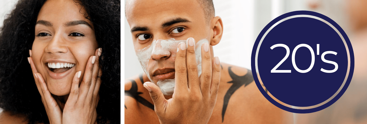 Read the ultimate guide to skincare in your 20s