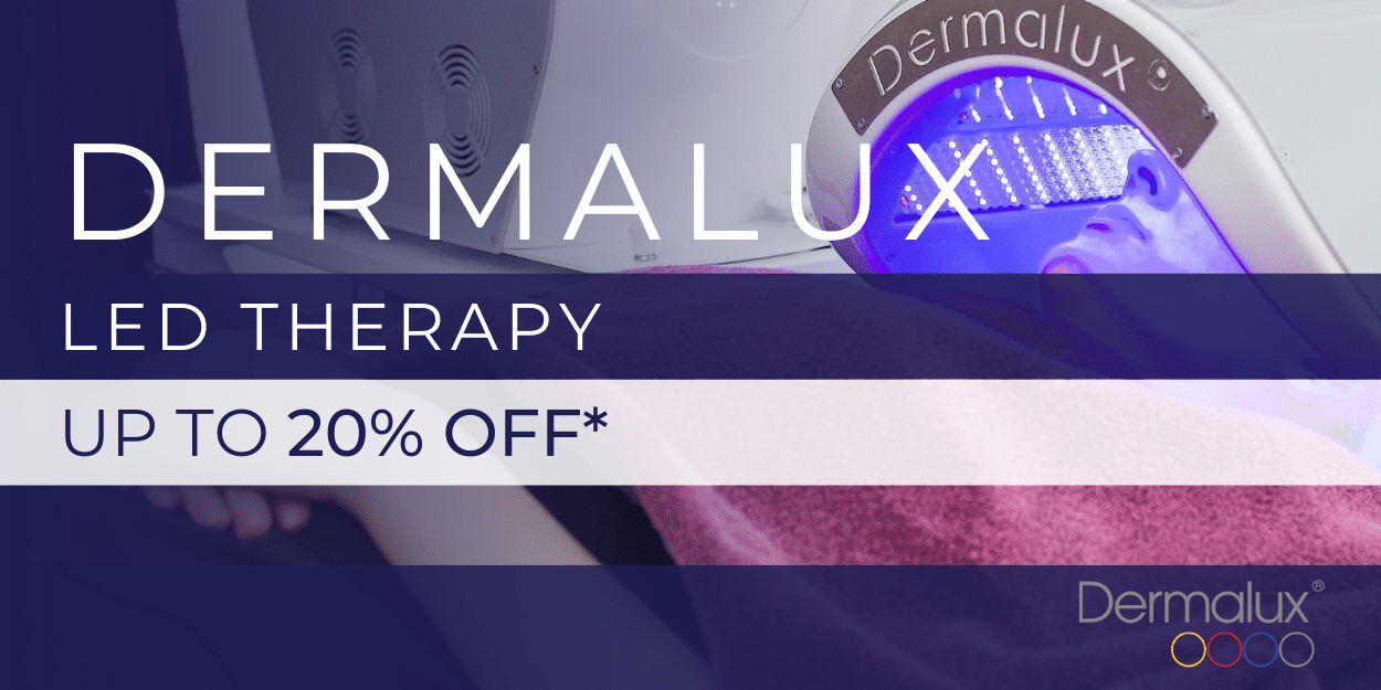 up to 20% off dermalux led light therapy