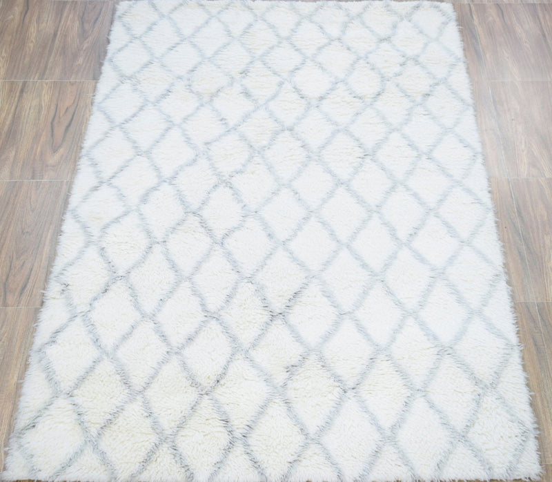 4x6 | 5x8 | Rug | Modern Handmade New Zealand Wool Area Rug | The Rug Decor |TRD1715 - The Rug Decor