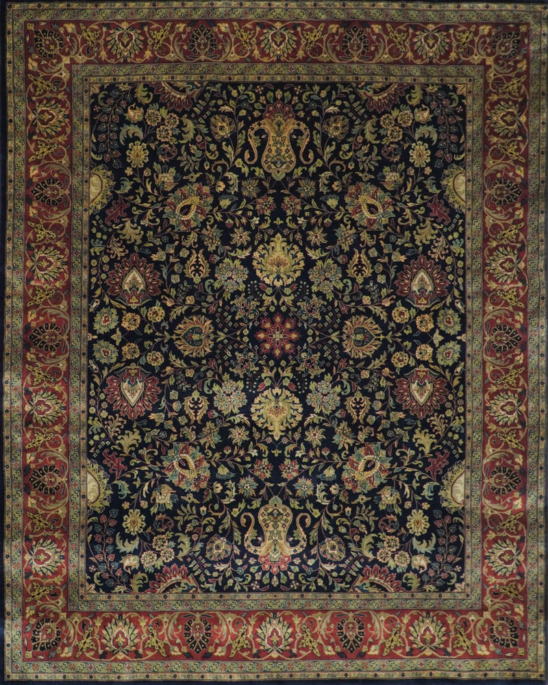 4x6 and 8x10 Feet Luxury Fine Handknotted Oriental Persian Mashad Rug | TRD129810 - The Rug Decor