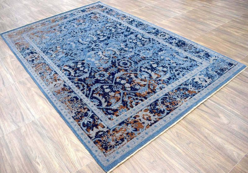 5.6x8.6 Rug | Modern Handmade Wool Area Rug | The Rug Decor | TRD17705686 - The Rug Decor