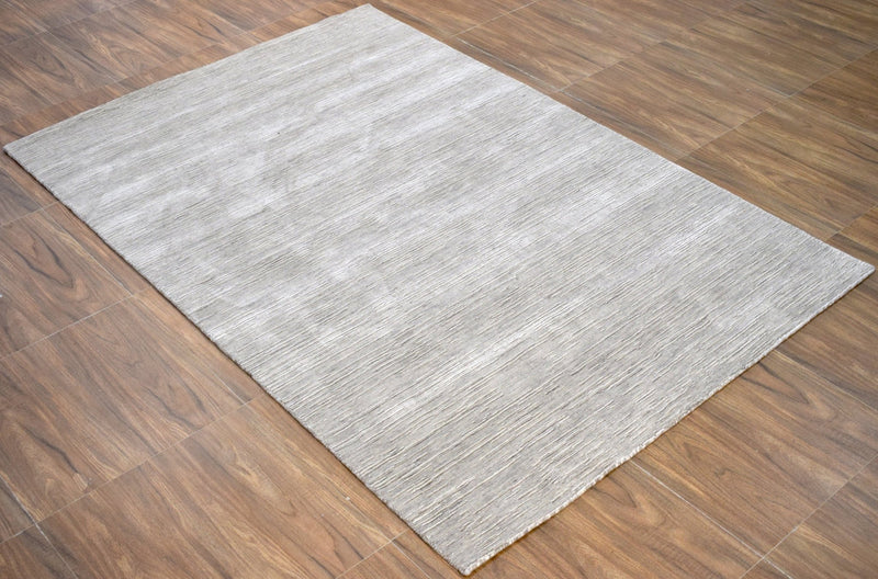 5'x 8' Rug |Modern Handmade Wool & Viscose Area Rug| The Rug Decor | TRD1006658 - The Rug Decor