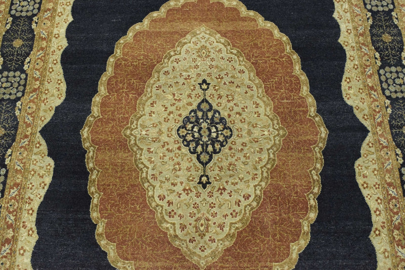 6x10 Rug One of a Kind Tabriz Rug made with fine wool. - The Rug Decor