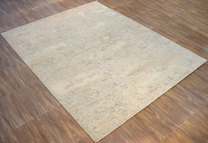 8'x 10' Rug |Modern Handmade Wool & Viscose Area Rug| The Rug Decor | TRD10073810 - The Rug Decor