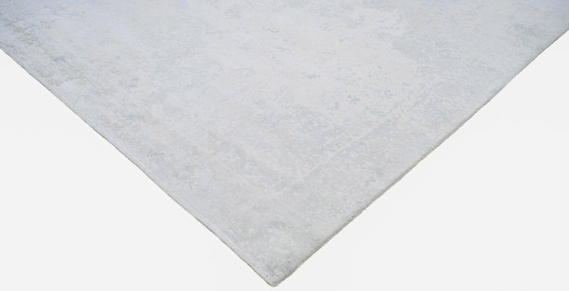 8x10 Rug, Abstract Ivory Rug made with Viscose Art Silk, Living, Dinning and Bedroom Rug | TRD005QT810 - The Rug Decor