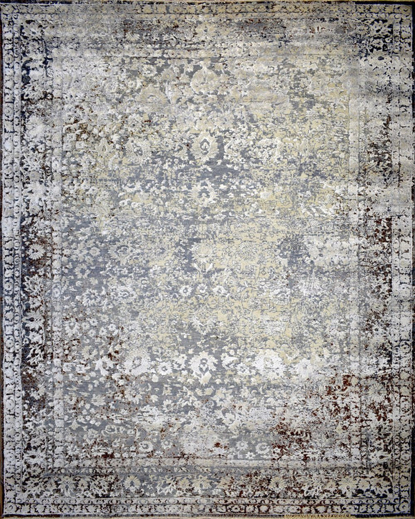 8'x10' Rug | Handmade Hand-Spun Wool and silk Area Rug | The Rug Decor | TRD1793810 - The Rug Decor