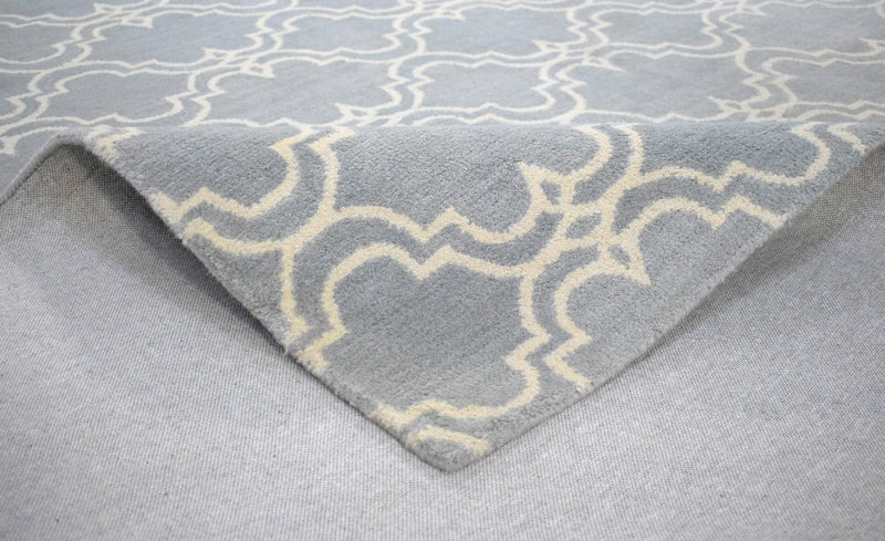 8'x10' Rug | Modern Handmade Twisted Wool Area Rug | The Rug Decor | TRD1002810 - The Rug Decor