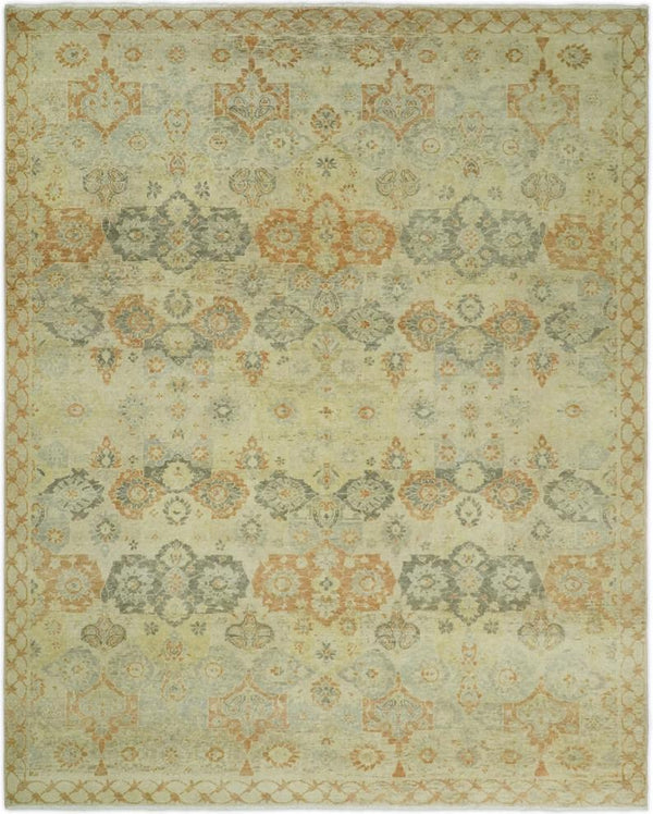 8x10 Rug | Traditional Handmade Natural Wool Area Rug | The Rug Decor | TRD1919810 - The Rug Decor