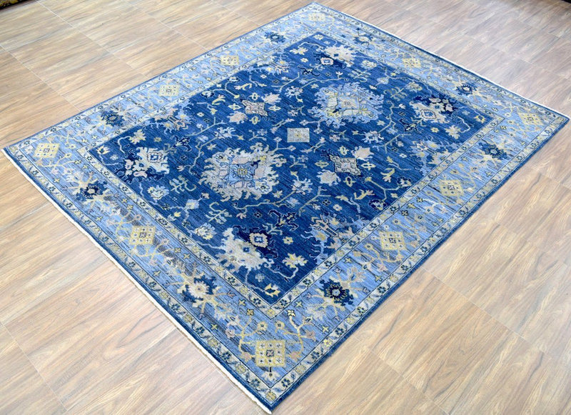 8x10 Rug | Traditional Handmade Natural Wool Area Rug | The Rug Decor | TRD1928810 - The Rug Decor