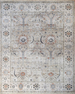 8x10 Traditional Handmade Handspun blended Wool Area Rug - The Rug Decor