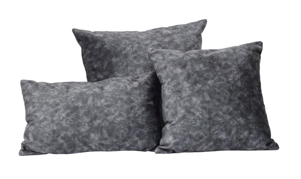 Charcoal Square and Lumbar Luxury Velvet Pillow | TRDPL03 - The Rug Decor