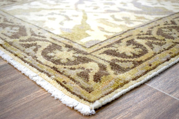 "Hand Knotted Oriental Oushak Wool Runner Rug 2'9"" X 17'3"" Rug 