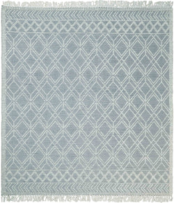 Hand Made Woolen Chunky and Soft White Wool Area Rug | CAL3 - The Rug Decor