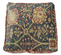 Luxury Floor Pillow made from fine woolen hand knotted Area Rug - The Rug Decor