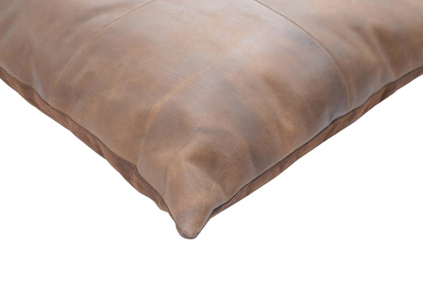 Luxury Genuine Leather Pillow | TRDPL05 - The Rug Decor