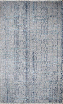 Traditional Handmade Wool & Viscose 2' by 3' Area Rug | TRD237023 - The Rug Decor