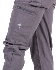 men's Bambi Gray Jogger Scrub Pants - Jogger Scrubs by Millennials In Medicine (Mim Scrubs)