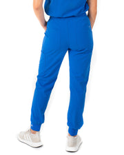 Women's Royal Blue Jogger Scrub Pants - Jogger Scrubs by Millennials In Medicine (Mim Scrubs)