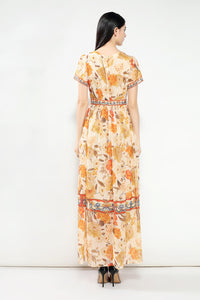 Ankle-Length Long Dress