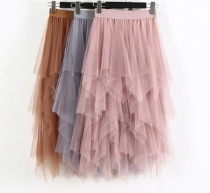 Tulle Long  Skirt