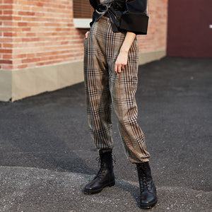 Retro Plaid Pant