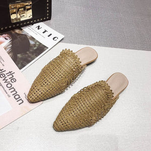 Rattan Shoes
