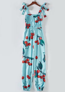 Bohemian Cherry Jumpsuit