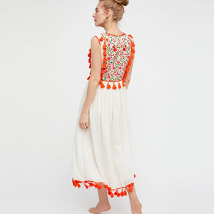 Hippie Tassel  Dress