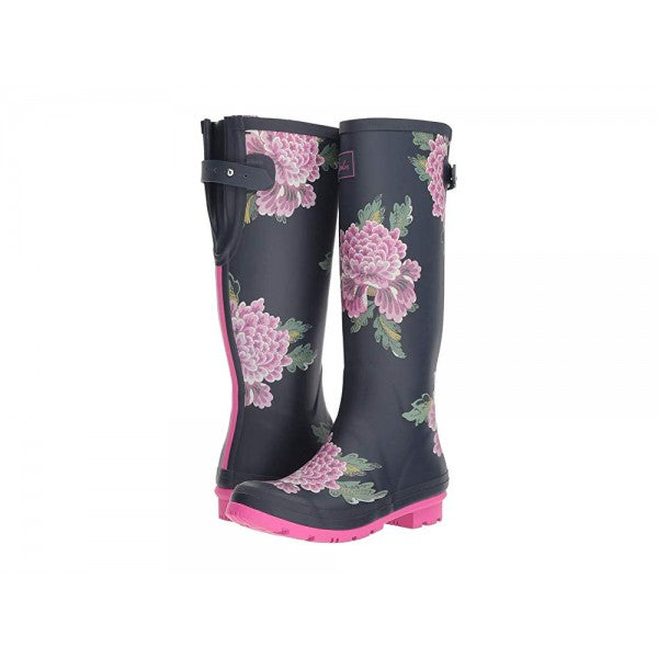 Joules Navy Chinois Wellies