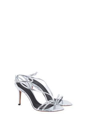 Axee Sandals | Silver