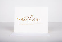 Mother Greeting Card