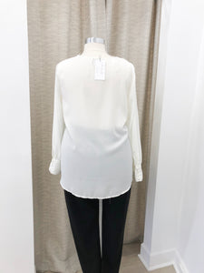 Asymmetrical Layered Blouse - Final Sale