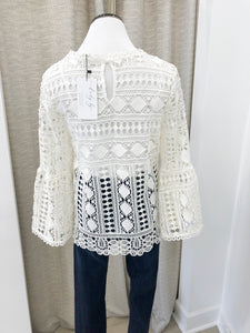 The Heidi Crochet Blouse
