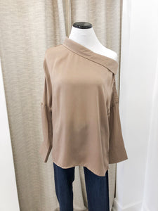 Rosalie Blouse in Cocoa