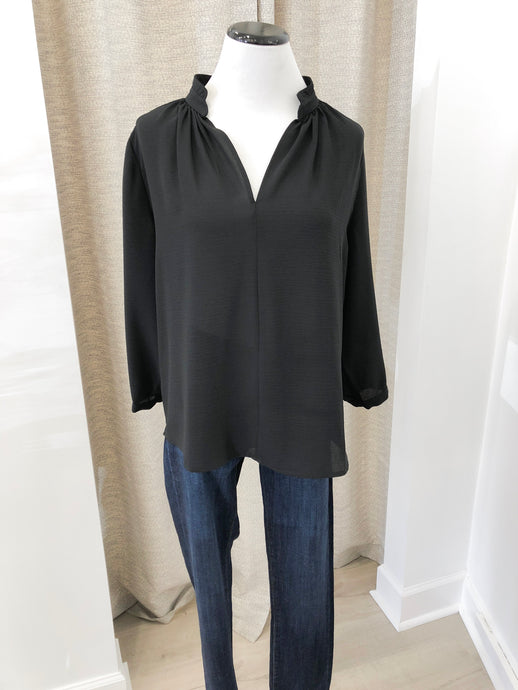 Molly Blouse in Black